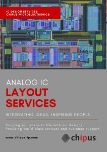 analog ic layout services chipus microelectronics